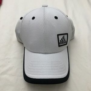 ADIDAS White Baseball Tennis Cap Hat